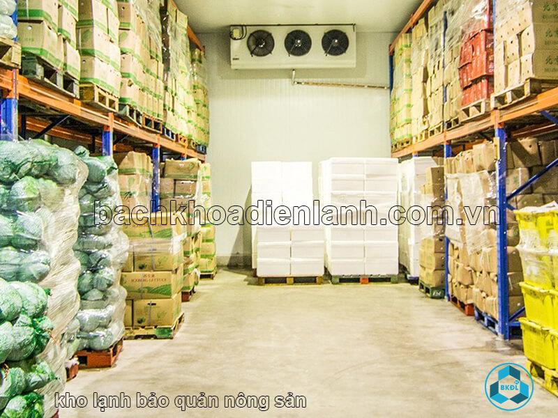 Kho lạnh bảo quản nông sản
