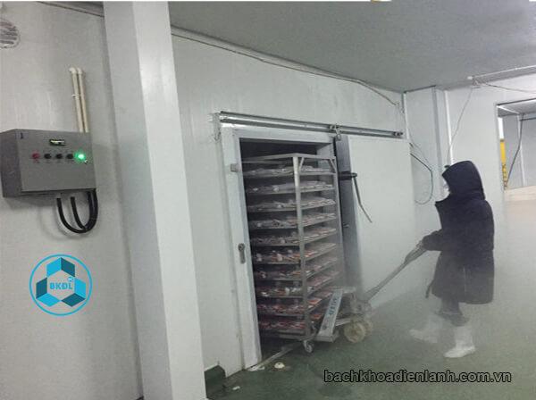 Kho lạnh thủy sản