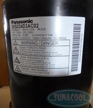 Block Panasonic Compressor 2KS224D3AC02
