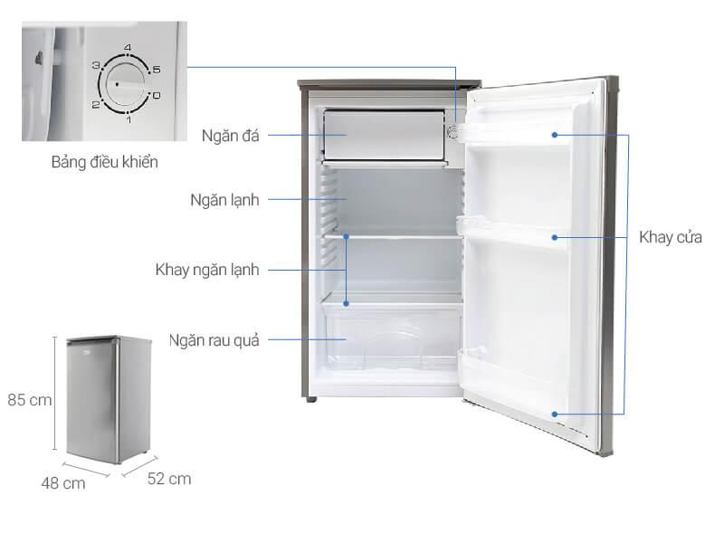 Kích thước tủ lạnh Beko